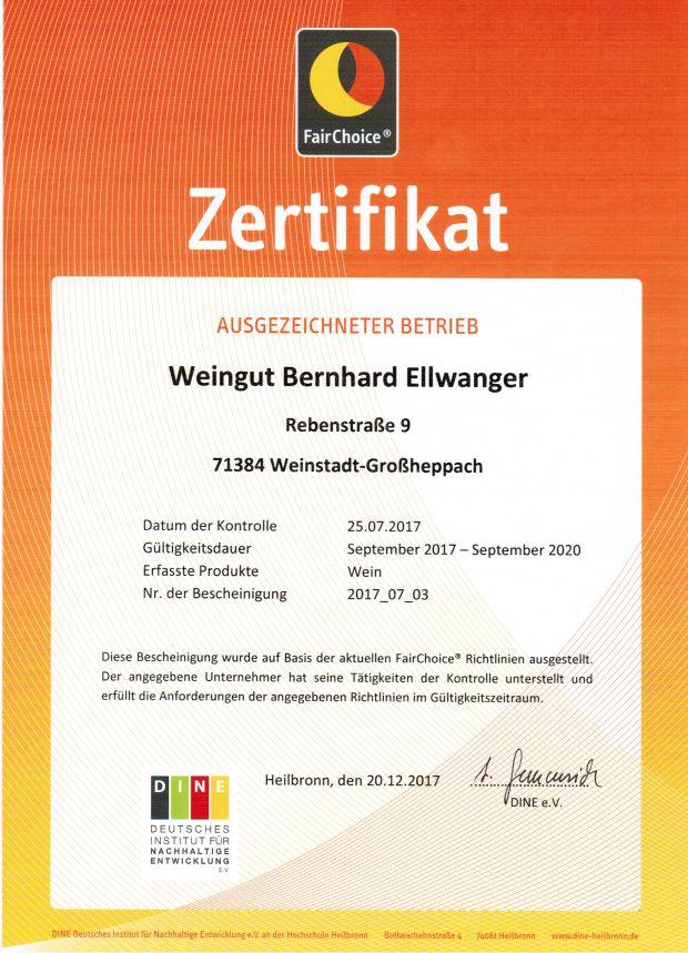 Urkunde 2017