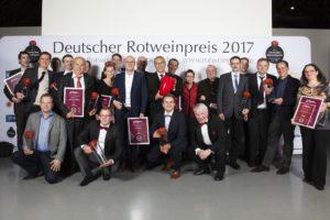 Rotweinpreis 2017 Gala Fellbach